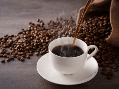 카페인이 함유되어 있는 커피 사진
