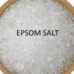 Epsom Salt 효능 10가지 확인해보자